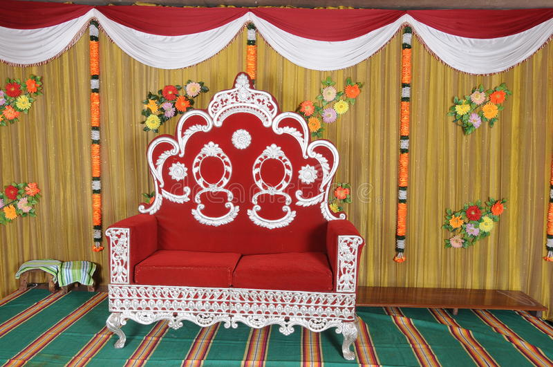 Download Wedding ceremony chair stock image. Image of furniture - 21861553