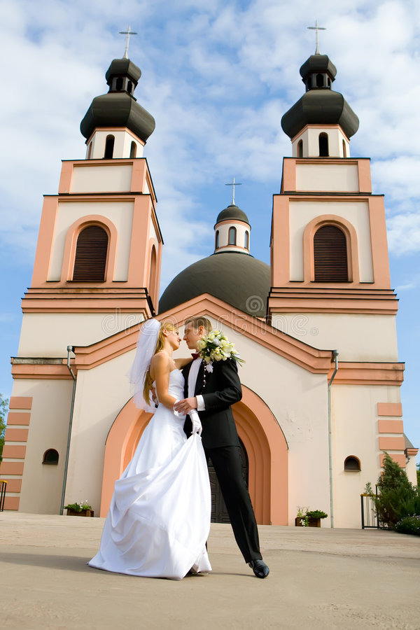 Download Wedding ceremony in church stock image. Image of beautiful - 8490995