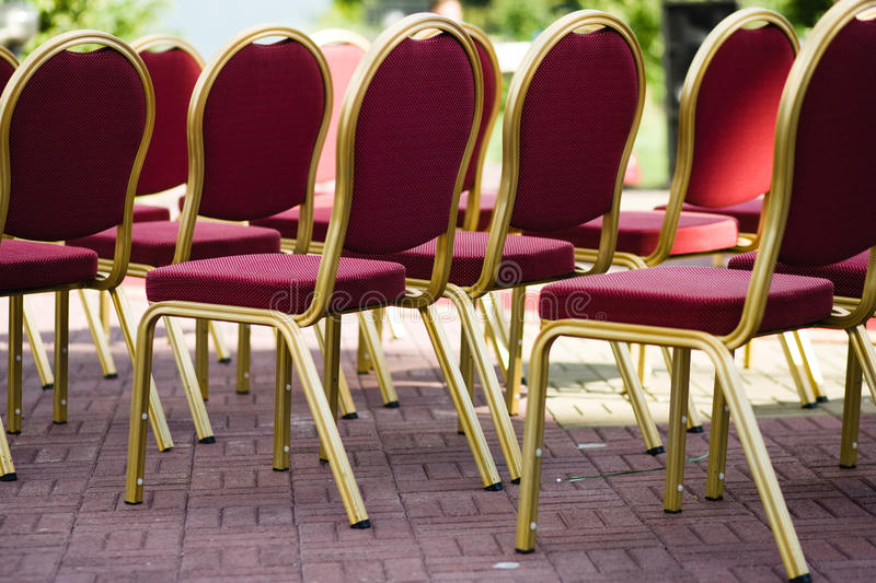 Download Wedding chairs stock photo. Image of married, marriage - 20477396