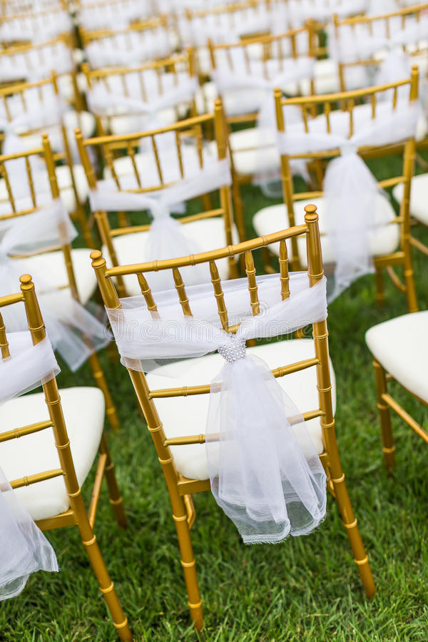Download Wedding Chairs Stock Image - Image: 33389671