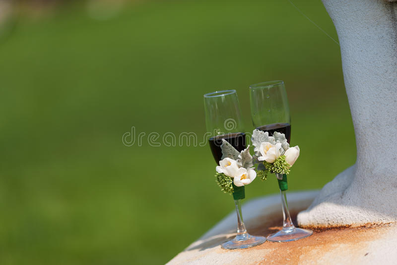 Download Wedding Champagne glasses stock photo. Image of congratulations - 29102318