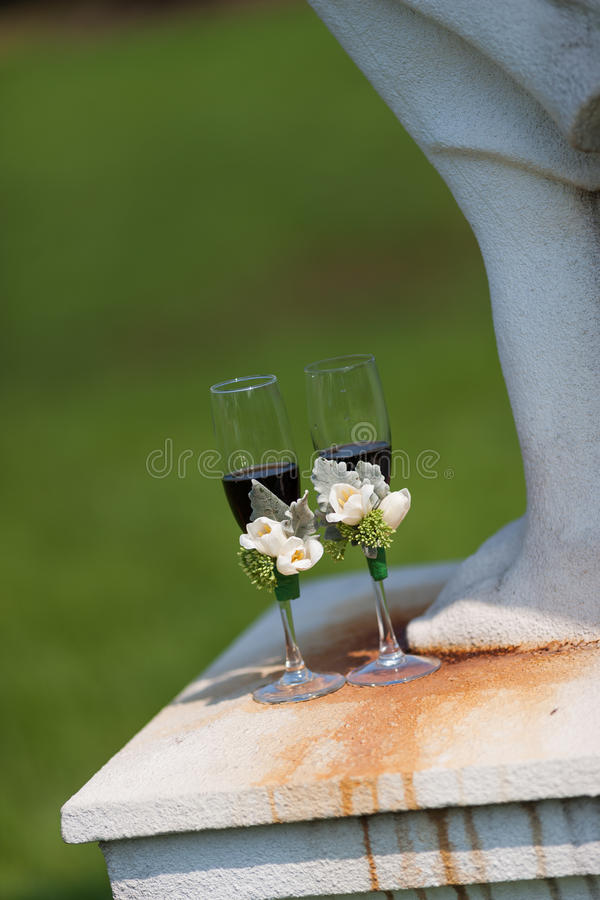 Download Wedding Champagne glasses stock photo. Image of celebration - 29102388