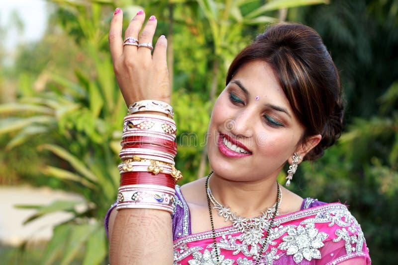 Wedding chura royalty free stock photography