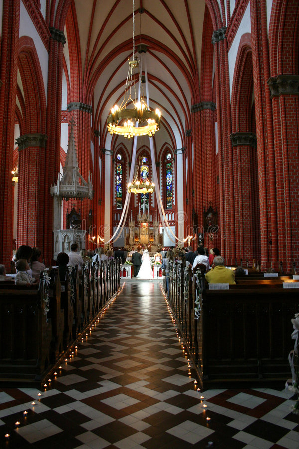 Wedding in the church