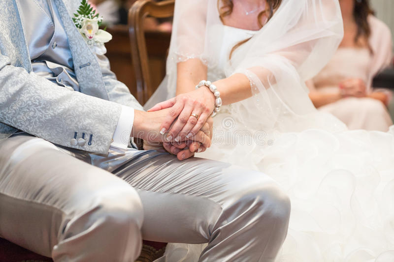 Wedding church royalty free stock images