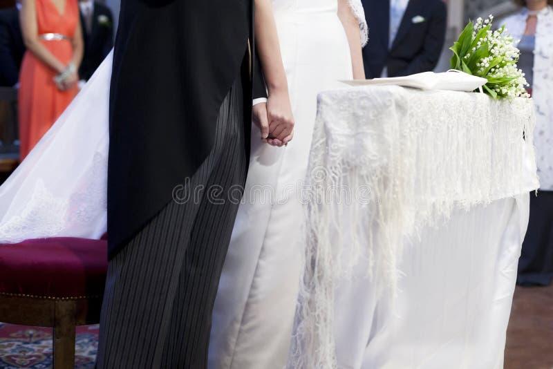Wedding church stock photos