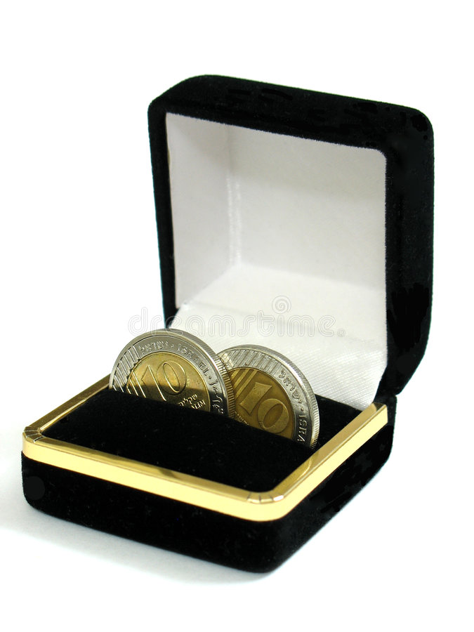 Download Wedding Coins Stock Photo - Image: 1400050