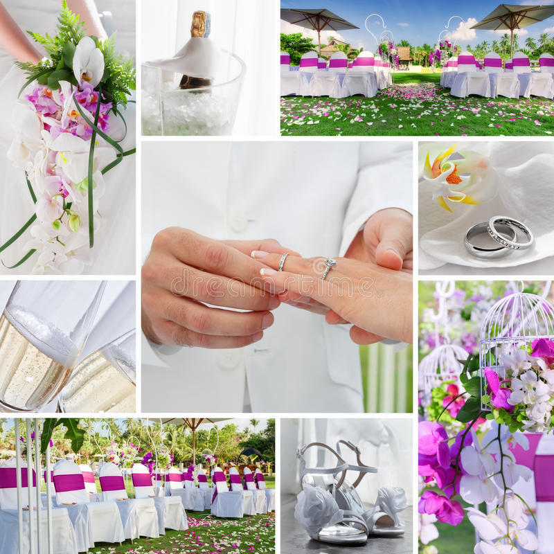 Free Wedding Collage Stock Photography - 22441422