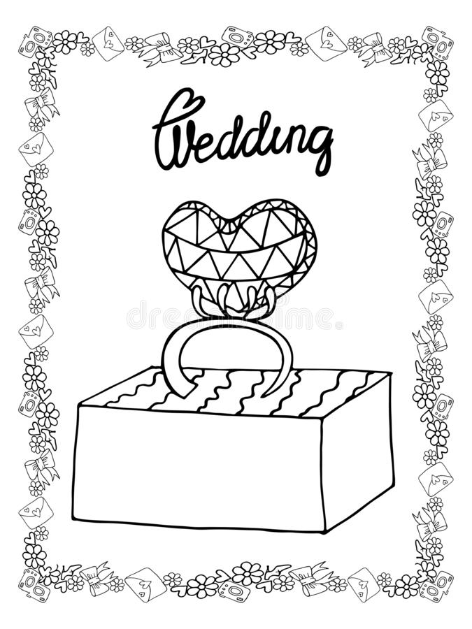 Wedding Coloring Stock Illustrations – 18,114 Wedding Coloring Stock  Illustrations, Vectors & Clipart - Dreamstime