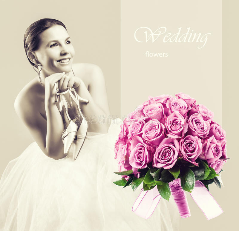 Wedding concept stock images