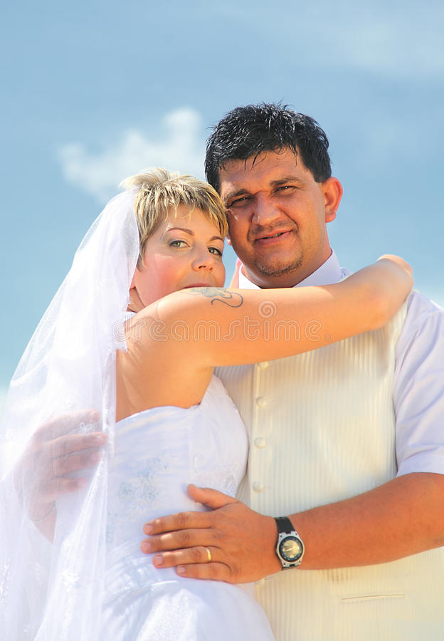 Download Wedding Couple Stock Image - Image: 12093741