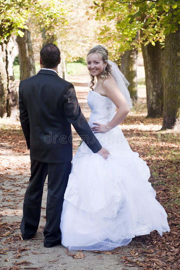 Free Wedding Couple Stock Photos - 21448273