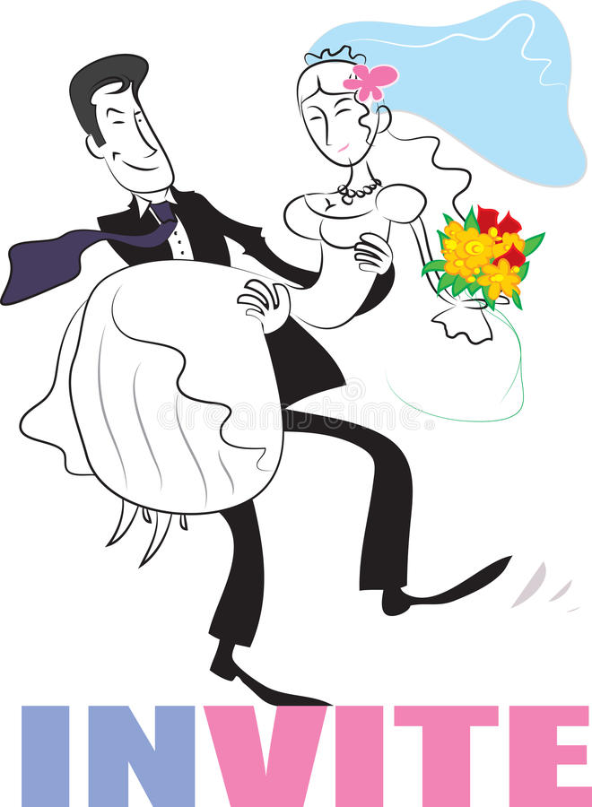Download Wedding couple stock vector. Illustration of marriage - 23688740