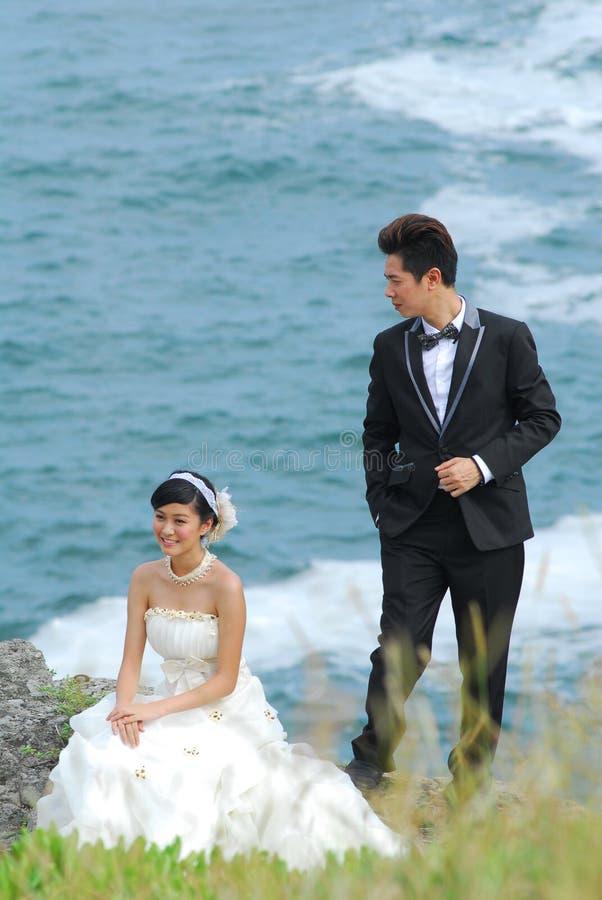 Download Wedding couple stock image. Image of precipice, walk - 26627649