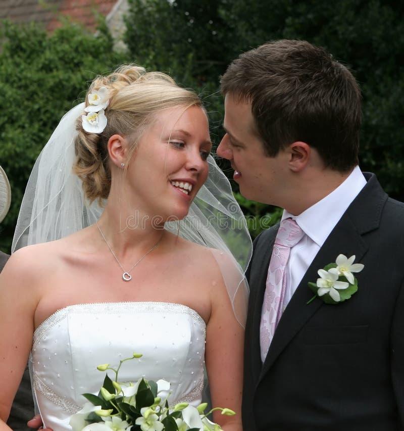 Download Wedding Couple, Bride & Groom Stock Image - Image: 462011