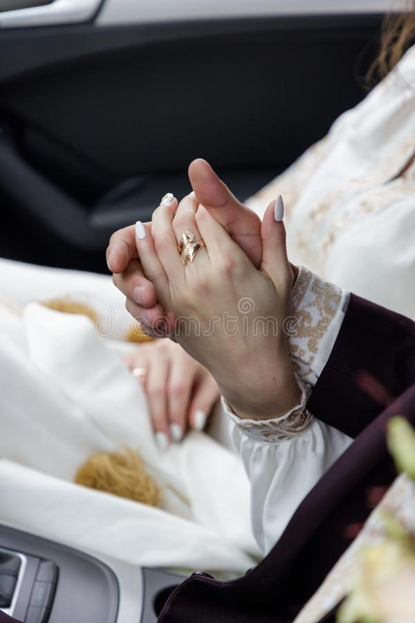 Couple Holding Hands Car Stock Photos Download 706 Royalty Free
