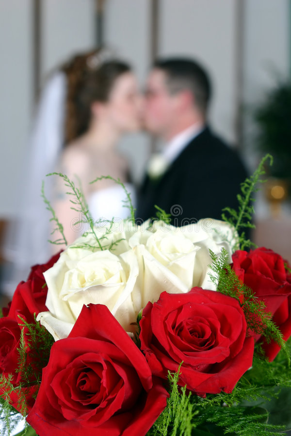 Download Wedding Couple Kissing Stock Images - Image: 2316214