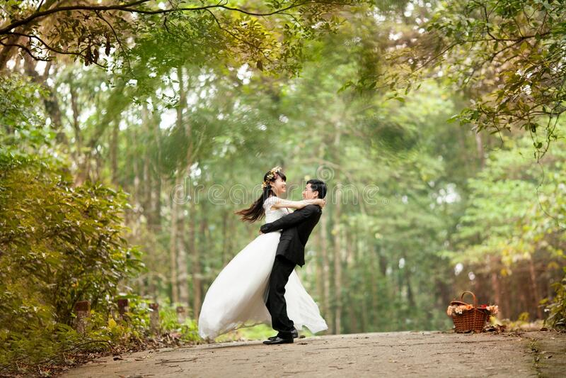 Wedding Couple Photo royalty free stock photography
