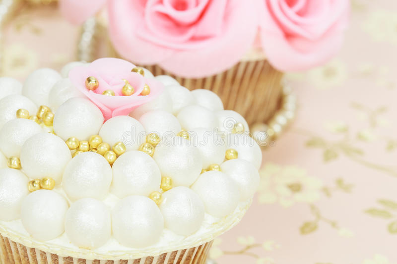 Wedding cupcakes stock image. Image of gourmet, frosted - 29045353