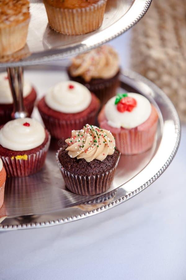 Free Wedding Cupcakes Royalty Free Stock Photography - 37376577