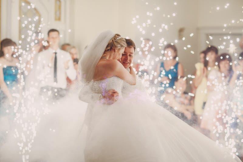 Wedding d'abord la danse image stock
