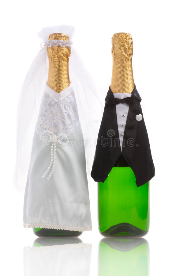 Wedding-day stock images
