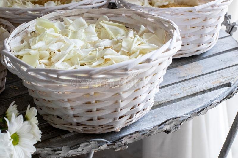 Wedding day in Italy stock photo