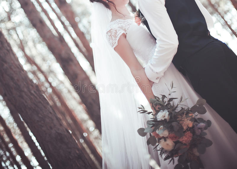 The wedding day royalty free stock image