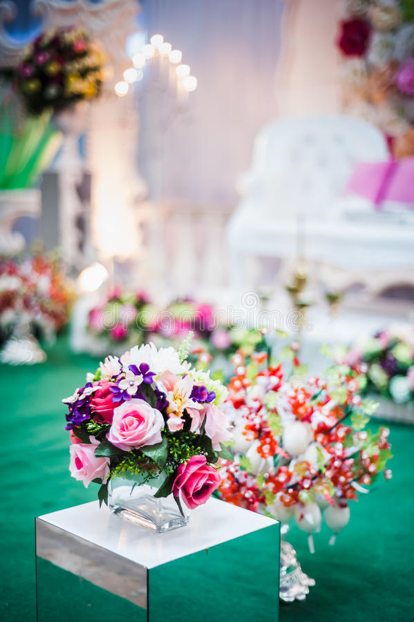Download Wedding Decoration stock photo. Image of object, flowers - 34008218