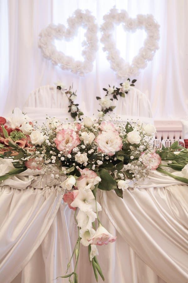 Wedding Decoration With Fresh Flowers Stock Photo Image Of House
