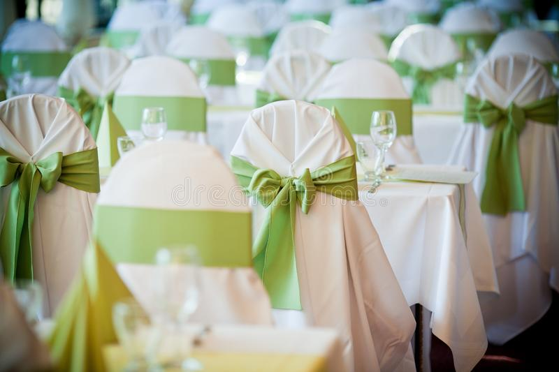Wedding decoration stock photo image of european wedding 35933446 glasses on the wedding table and green colours in a wedding decoration junglespirit Image collections