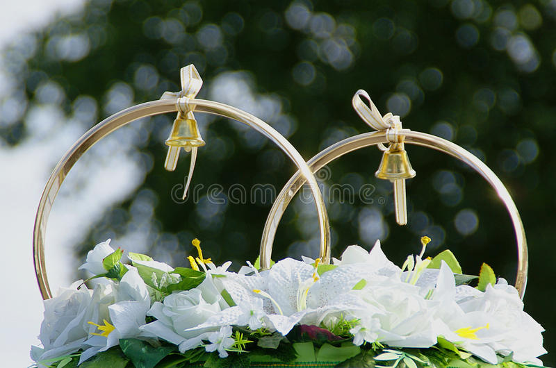 wedding bells decorations wedding decorations a of rings stock photo image 8434