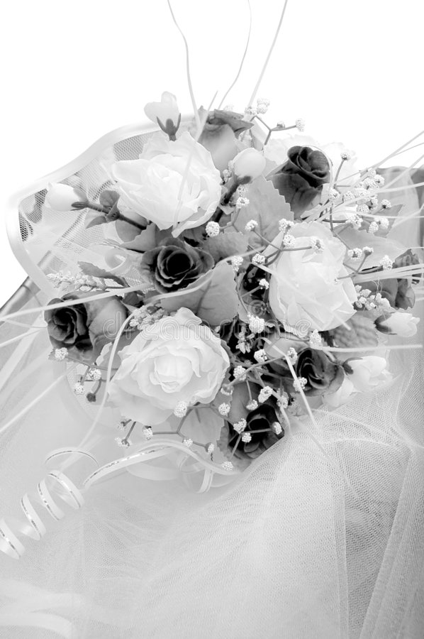 Wedding detail - flowers royalty free stock photography