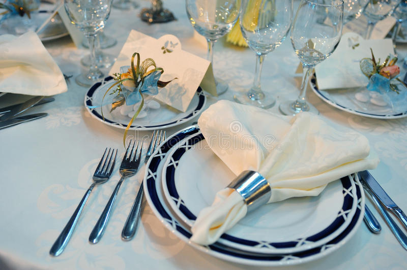 Download Wedding Dinner Reception Table Stock Image - Image: 18206693