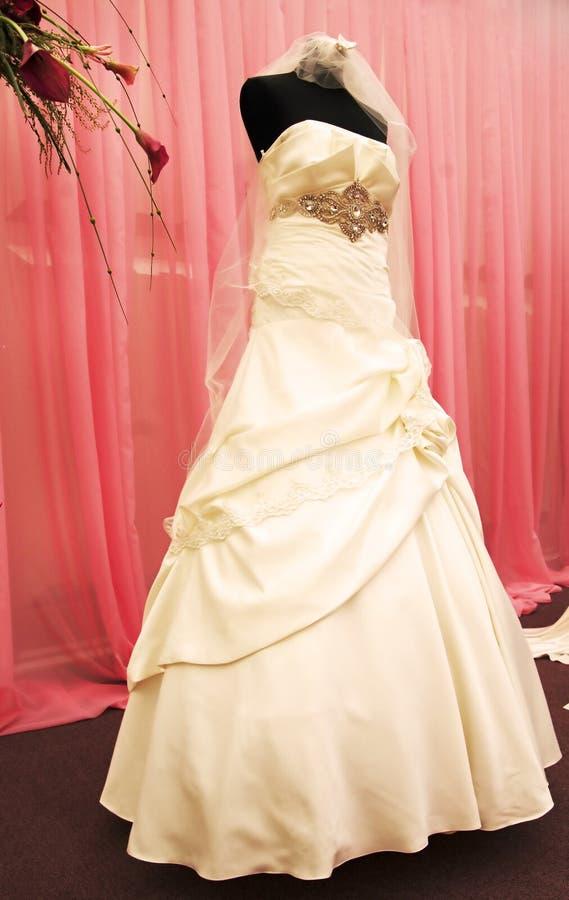 Download Wedding dress stock image. Image of satin, elegance, formalwear - 14779723