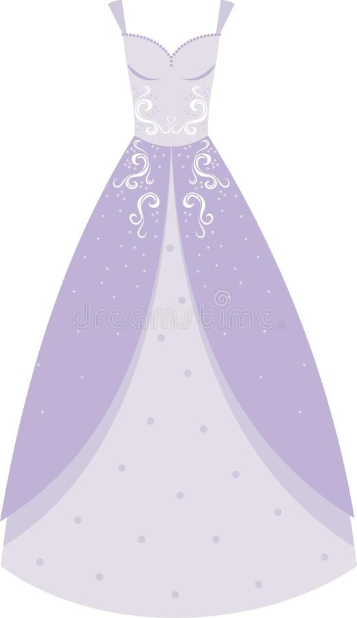 Download Wedding dress stock illustration. Image of decoration - 17319417