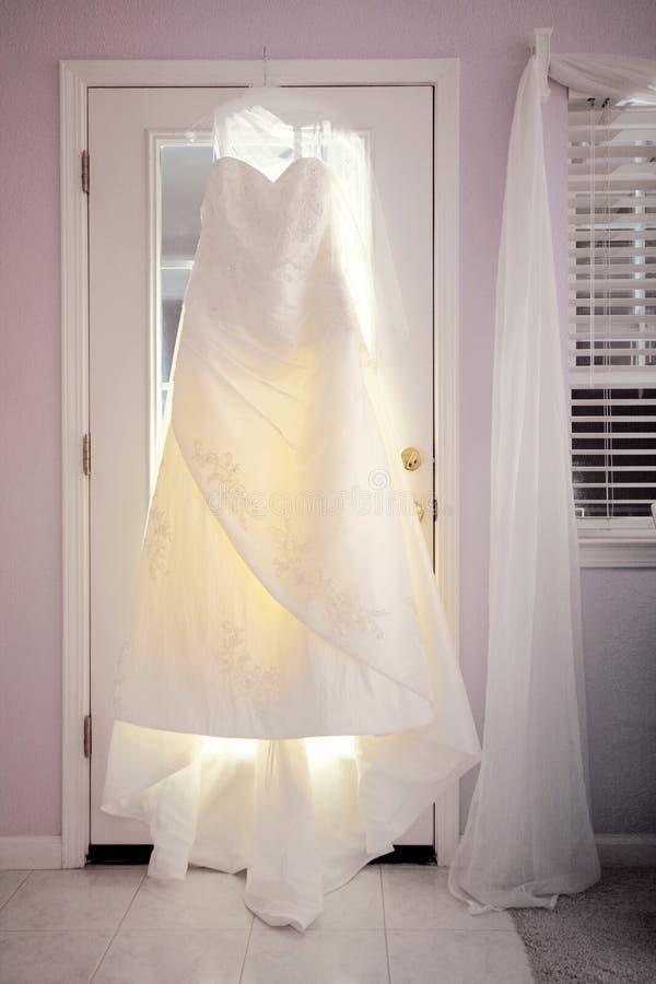 Wedding Dress royalty free stock photos