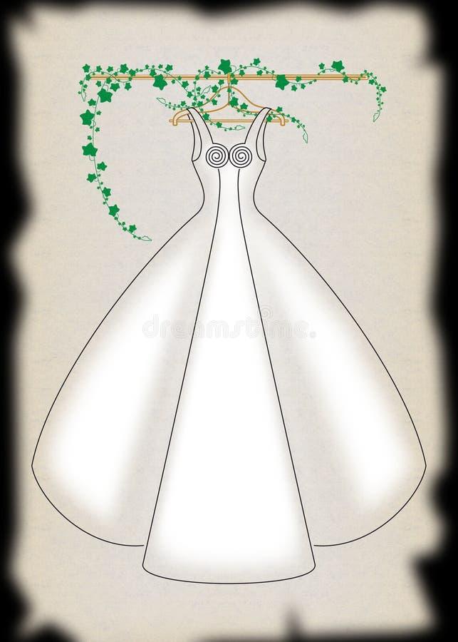 Download Wedding Dress stock illustration. Image of illustration - 3688023
