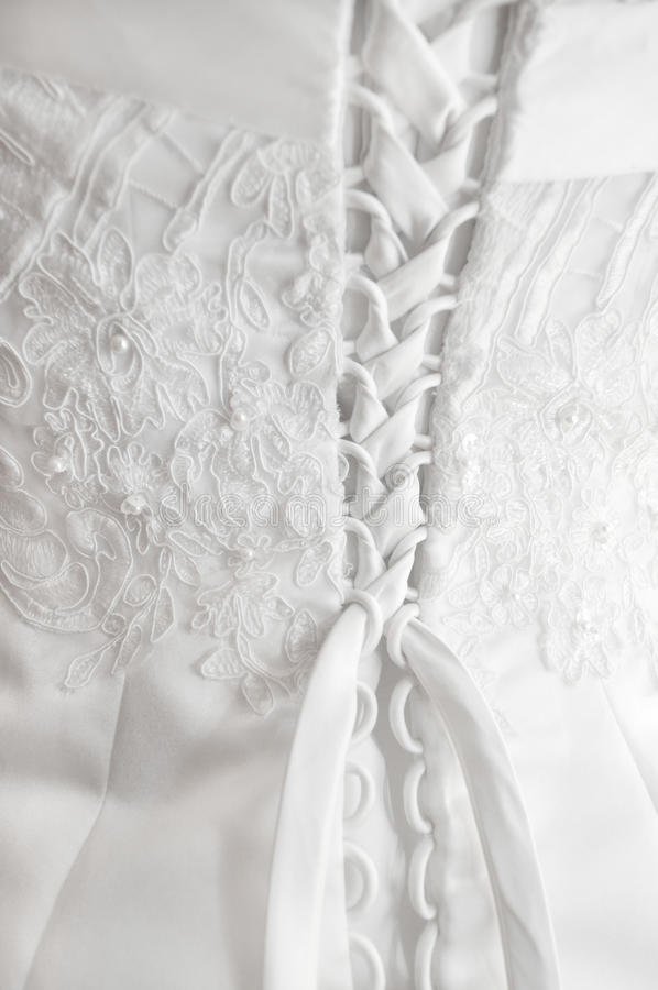 Free Wedding Dress Detail Stock Photography - 14597302
