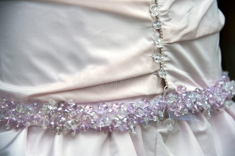 Download Wedding dress detail stock image. Image of pink, tradition - 27107097