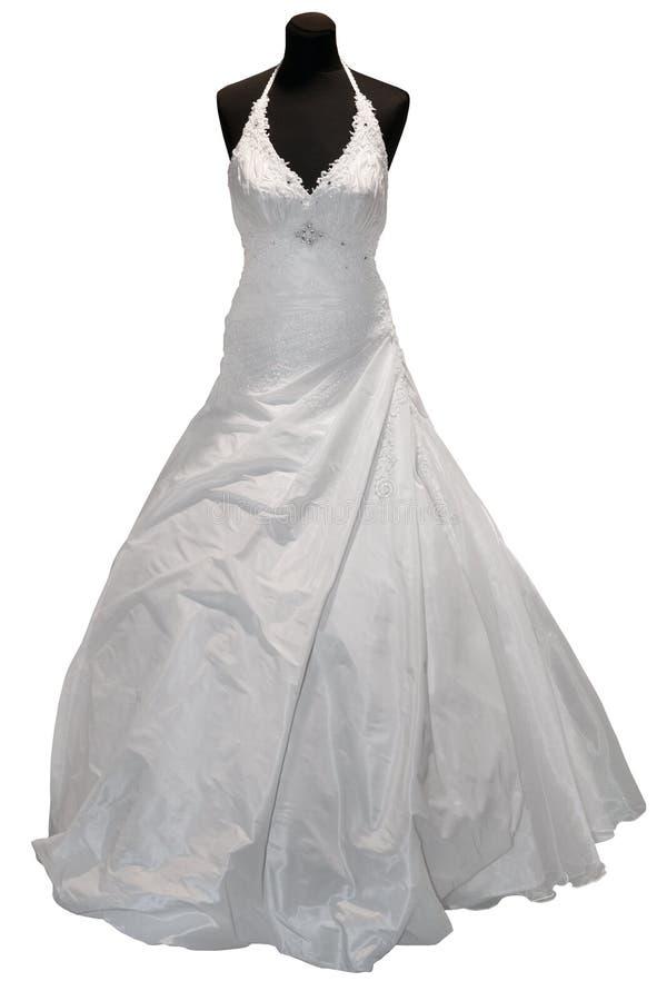 Download Wedding dress on mannequin stock image. Image of dress - 18303617