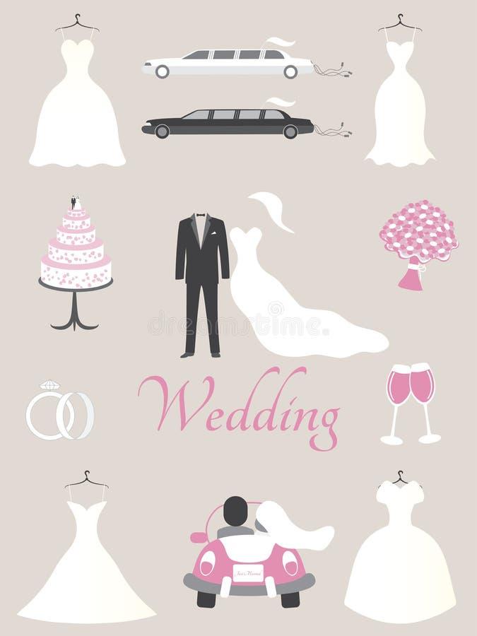Wedding Elements Royalty Free Stock Image