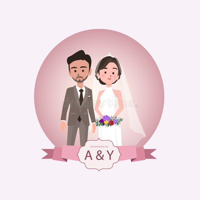 Wedding elements set 2 vector illustration