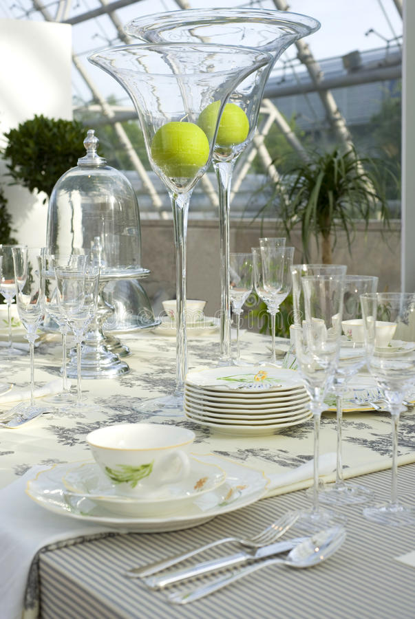 Download Wedding festive table stock image. Image of chair, ceremony - 15924509