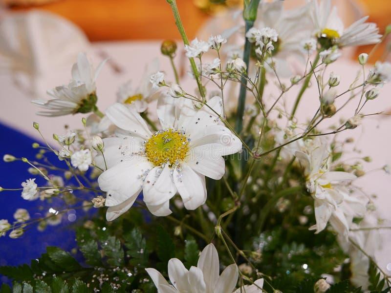 Wedding floral arrangement. Beautiful floral arrangements for centerpiece for special events stock photo