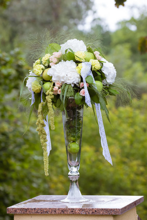 Wedding floral decoration with apple stock image image of garden download wedding floral decoration with apple stock image image of garden antique 72054149 junglespirit Image collections