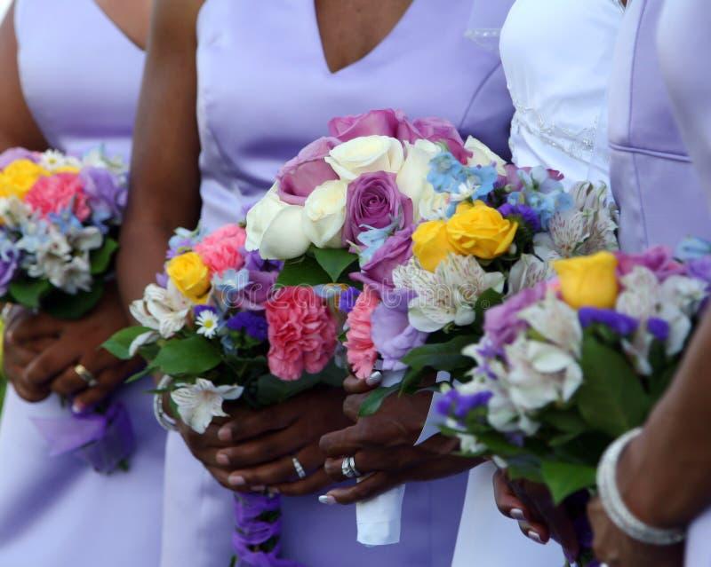 Wedding flowers royalty free stock photos