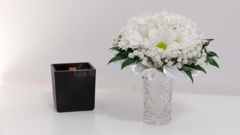 Wedding flowers concept stock photos