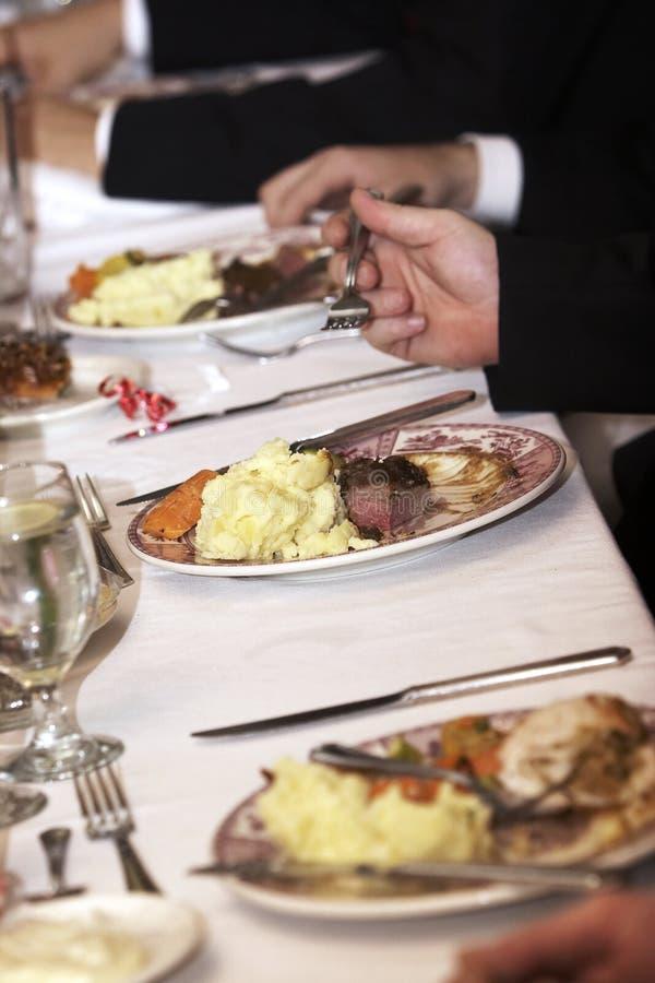 Download Wedding Food Being Eaten Stock Photos - Image: 1499783