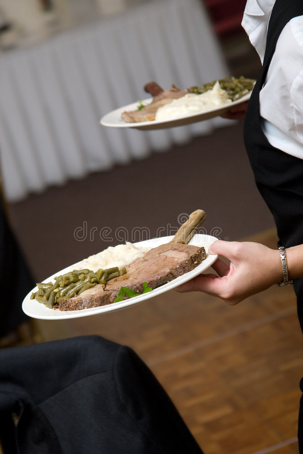 Download Wedding food being served stock image. Image of drink - 3857779